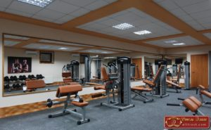 Отель Элит спортивный зал