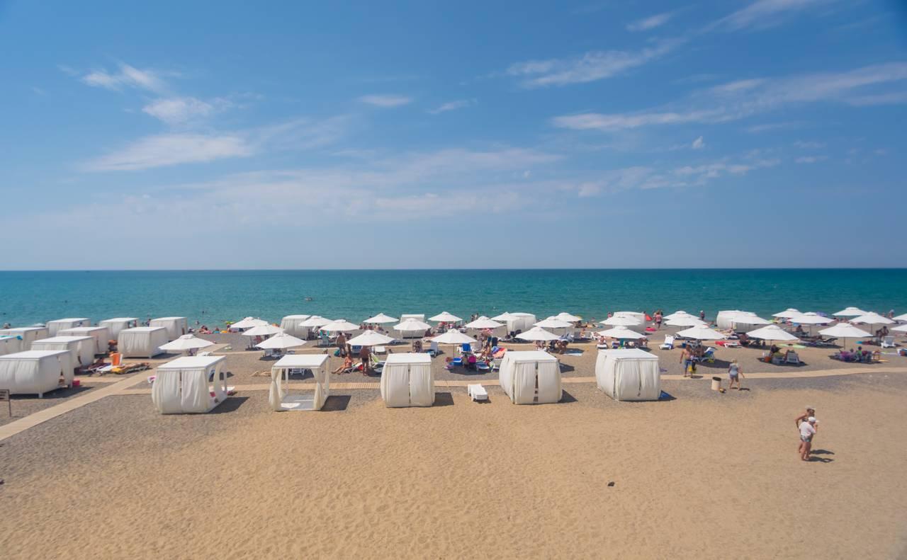 Отель «Элит» пляж и море