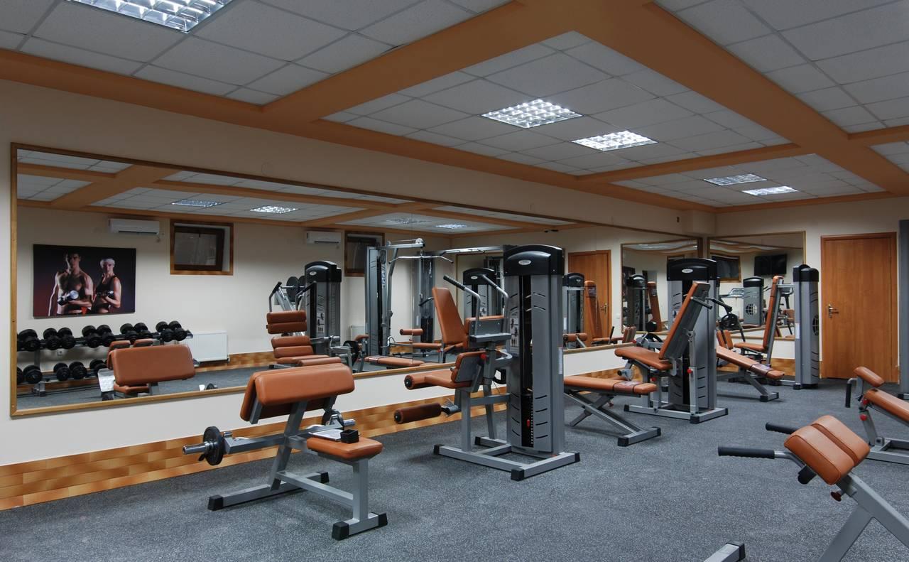 Отель «Элит» спортивный зал